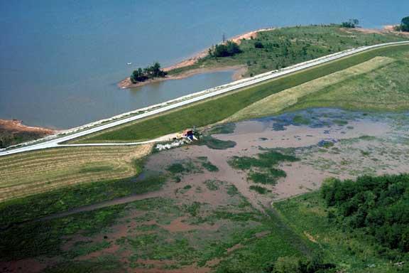 Saddle Dam